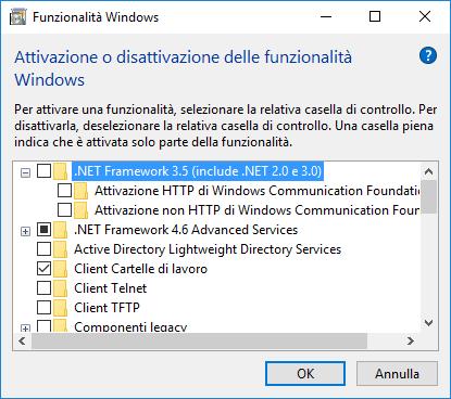 Funzionalità di Windows