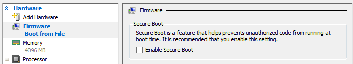 Secure Boot