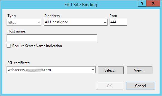Site Binding